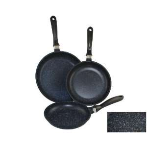 Blue Marble Coated Cast Aluminum Healthy Fry Pan