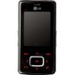 LG KG 800 Red Tri Band Unlocked GSM Cellular Phone
