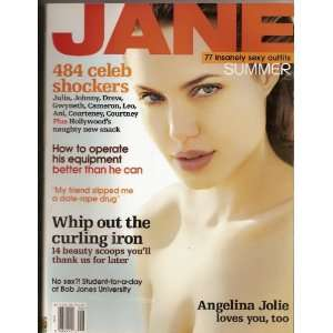 Jane Magazine June/July 2000 Angelina Jolie Cover (Volume