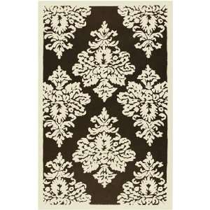 The Rug Market 25212D DAMASK AREA RUG 5 x 8