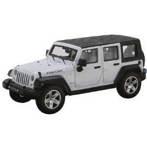 HO 2007 Jeep Wrangler 4 Door Unlimited (White) Atlas