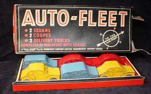 Auto Fleet Pla Mor Toy Gravenhurst WW2 Car Truck in Box
