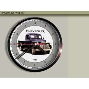 1941 Chevrolet Chevy Pickup Truck Wall Clock E049