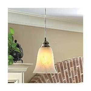 Transitional Bell Instant Pendant Light   Brushed Nickel