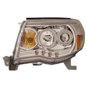 TOYOTA TACOMA 05 07 HEADLIGHTS CHROME BLUE AMBER(CCFL)