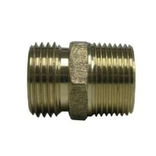 Watts A 665 Brass Garden Hose Adapter, 3/4 Inch x 3/4 Inch MPT at