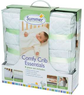 Summer Infant Comfy Crib Essentials 8 Piece Set   Summer Infant