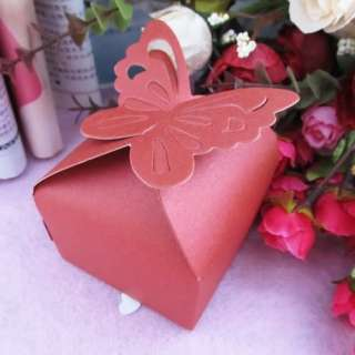 10pcs Butterfly Paper Wedding Baby Shower Party Favor Supplies Candy