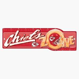 NFL Kansas City Chiefs Zone Sign **
