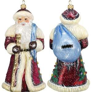 Father Frost Russian Santa Woodlands Ornament