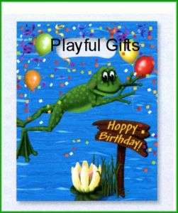 Swamp Happy Birthday Treat/Loot Bags Party Favor