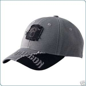 POLARIS SNOWMOBILE DRAGON PATCH CAP HAT GRAY