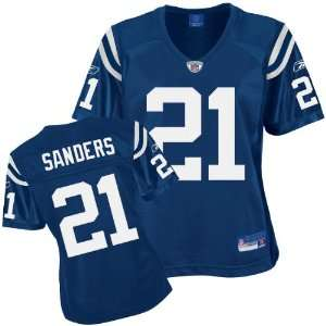 Reebok Indianapolis Colts Bob Sanders Womens Replica Jersey Large