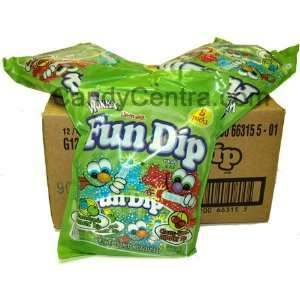 Fun Dip Peg Bag (12 Bags)  Grocery & Gourmet Food