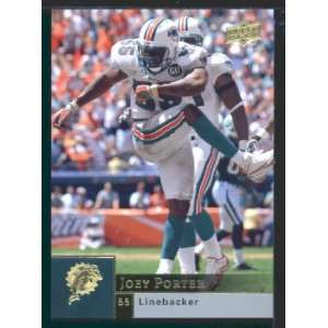Joey Porter   Dolphins   2009 Upper Deck NFL Football