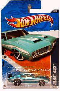 2011 Hot Wheels Muscle Mania #109 Olds 442