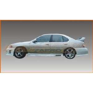 98 01 NISSAN ALTIMA BLACK WIDOW SIDE SKIRTS Automotive