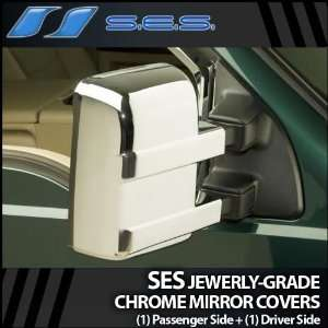 2008 2012 Ford Super Duty Full SES Chrome Mirror Covers