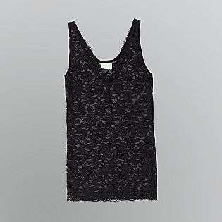 Lace Tank Top  Dream Out Loud by Selena Gomez Clothing Juniors Tops