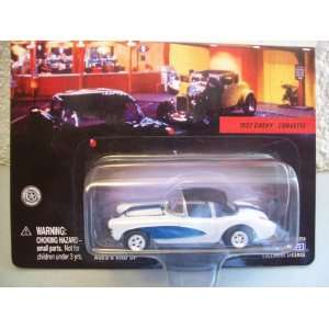 Johnny Lightning American Graffiti 1957 Chevy Corvette Toys & Games