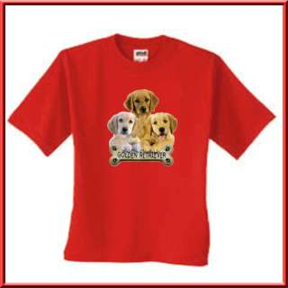 Golden Retriever Puppy Dog Breed Bone T Shirt S,M,L,XL,2X,3X,4X,5X