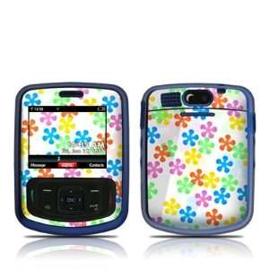 Flower Power Design Skin Decal Sticker for Verizon Blitz Electronics