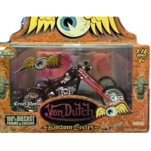 Jada Toys Von Dutch Kustom Cycles diecast 118 scale Cruel