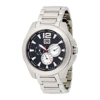 New Marc Ecko Hudson Chrono Black Mens Watches E12587G1