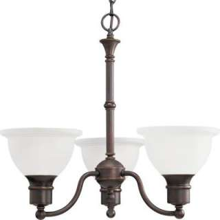 Progress Lighting Madison Collection Antique Bronze 3 light Chandelier