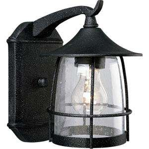 Progress Lighting Prairie Collection Gilded Iron 1 Light Wall Lantern