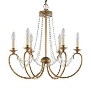 Hampton Bay Estelle 6 Light 99 In. Hanging Chandelier HD13811L6CHPC at