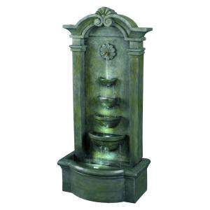 Sienna Lighted Outdoor 44 in. Floor Fountain 53245MS