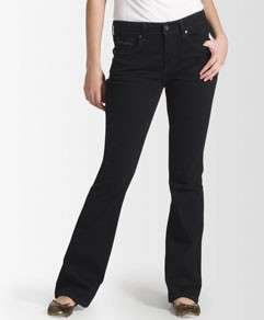 LEVIS 529 No Gap Curvy Low Rise Boot Cut Black Jean 6M
