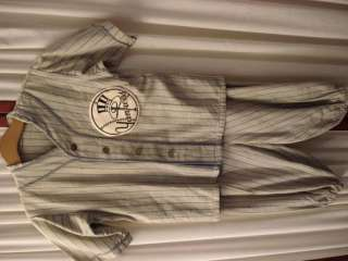 1930s Boys Baseball New York Yankees Shirt & Pants