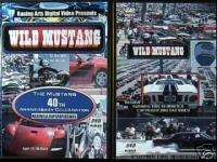 WILD MUSTANG Ford 40th Anniversary DVD JACK ROUSH NEW
