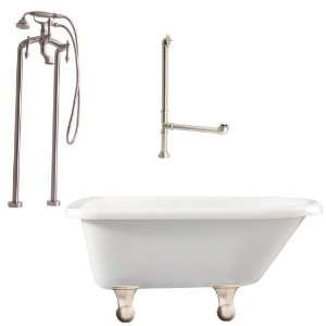 Giagni LB2 BN Brighton Floor Mounted Faucet Package