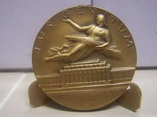 Woodrow Wilson Medallic Art Hall of Fame for Great Americans Bronze