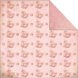 Fabscraps Vintage Baby 12 x 12 Double Sided Paper   Umbrella
