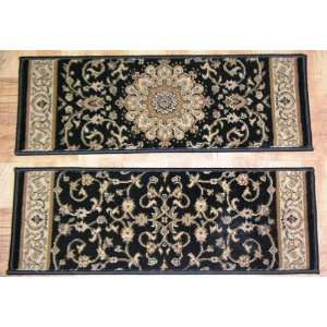 Carpet Stair Treads   26 x 9 Stair Treads   Black Background   Set