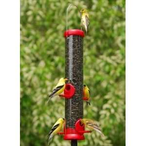 Bird Lovers Cardinal/Songbird Seed Feeder   Red Patio, Lawn & Garden