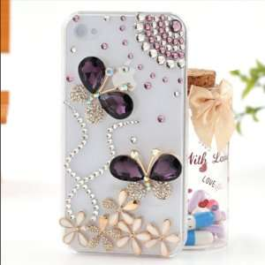 cases & FREE PINK GIft Box glue & extra rhinestone Cell Phones