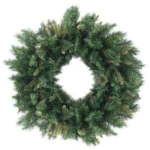 Rich Mixed Pine Artificial Christmas Wreath   Unlit
