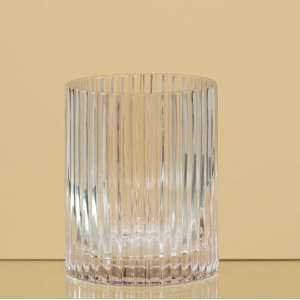 Oddity 79373 5.75 Ribbed Glass Cylinder Vase   Pack of 2