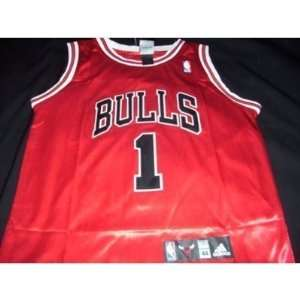 Derrick Rose Adidas Road Red Chicago Bulls Jersey  Sports