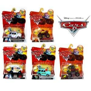 Disney Pixar Cars 2 Deluxe Toon Monster Truck Mega Size Vehicle 155