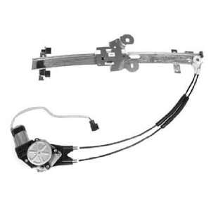 Dodge/Plymouth Front Passenger Side Power Window Regulator with Motor