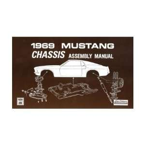 1969 FORD MUSTANG Chassis Assembly Manual Book Automotive