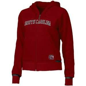 South Carolina Gamecocks Garnet Ladies Classic Fleece Hoody Sweatshirt