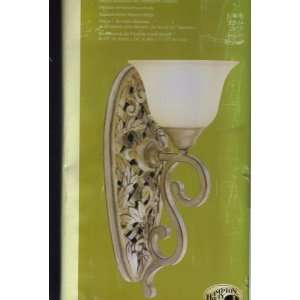Hampton Bay Vine Trellis Wall Sconce