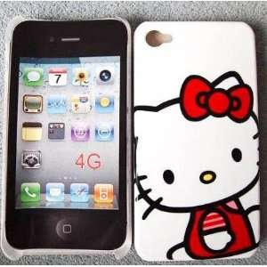 Hello Kitty White Hard Case Cover Skin for iphone 4 4G 4S Cell Phones